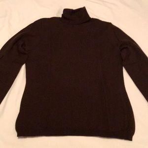 Apt. 9 brown turtleneck sweater